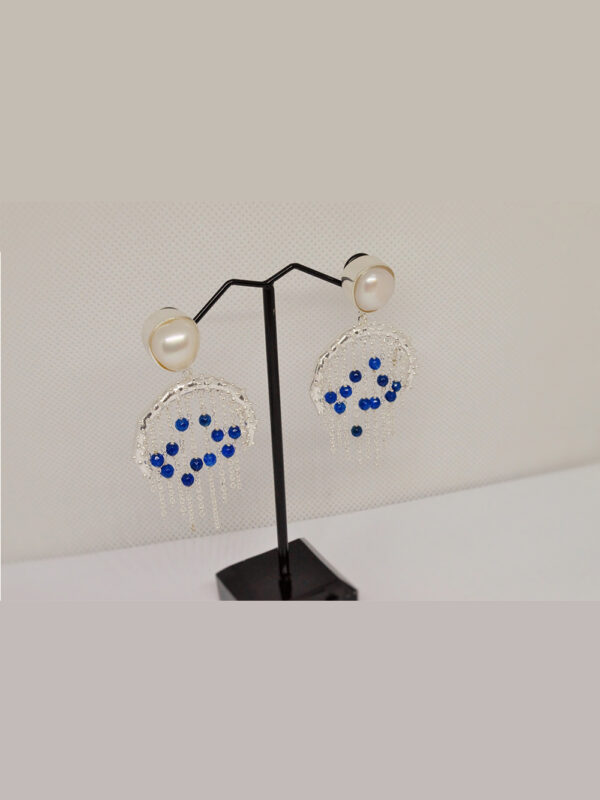 Bodhi Earrings Blue Aventurine